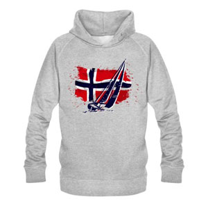Norwegian Flag & Sailingboat
