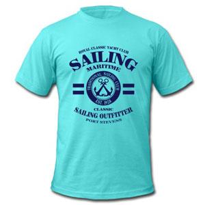 Maritimes Segeln T-Shirt